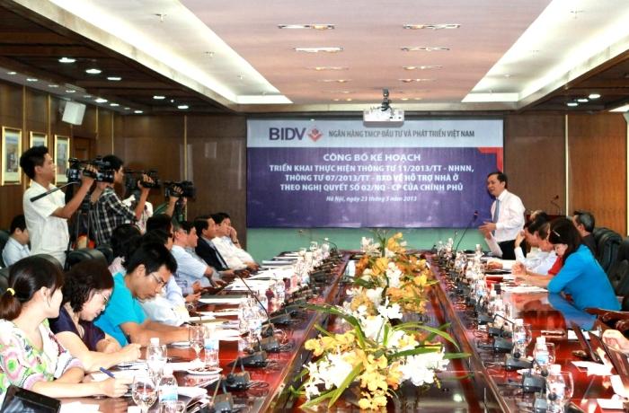 BIDV đăng ký 10 nghìn tỷ đồng cho vay hỗ trợ nhà ở theo Nghị quyết 02/NQ-CP