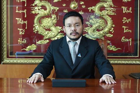 Ông Lương Trí Thìn, Tổng giám đốc Tập đoàn Đất Xanh.