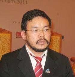 ông Lương Trí Thìn - Chủ tịch HĐQT công ty CP Đất Xanh