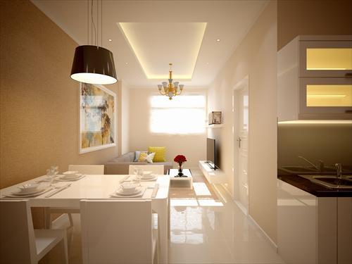 Phòng khách căn hộ Sunview Town
