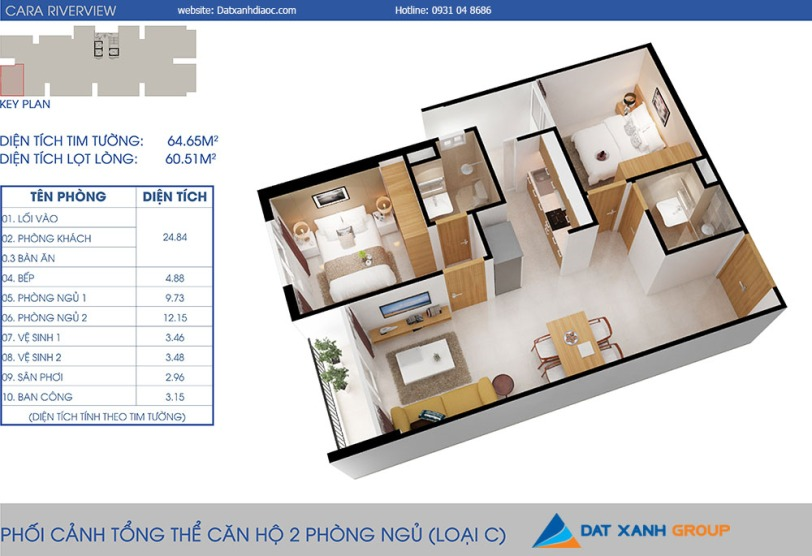 Can-ho-cara-riverview-2pn-65m20