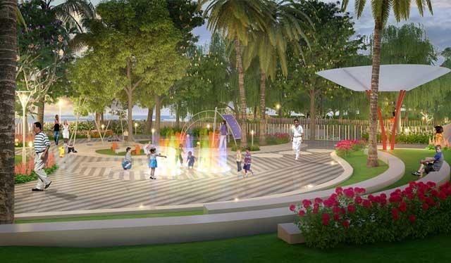 Opal Riverside Khu Nhạc Nước