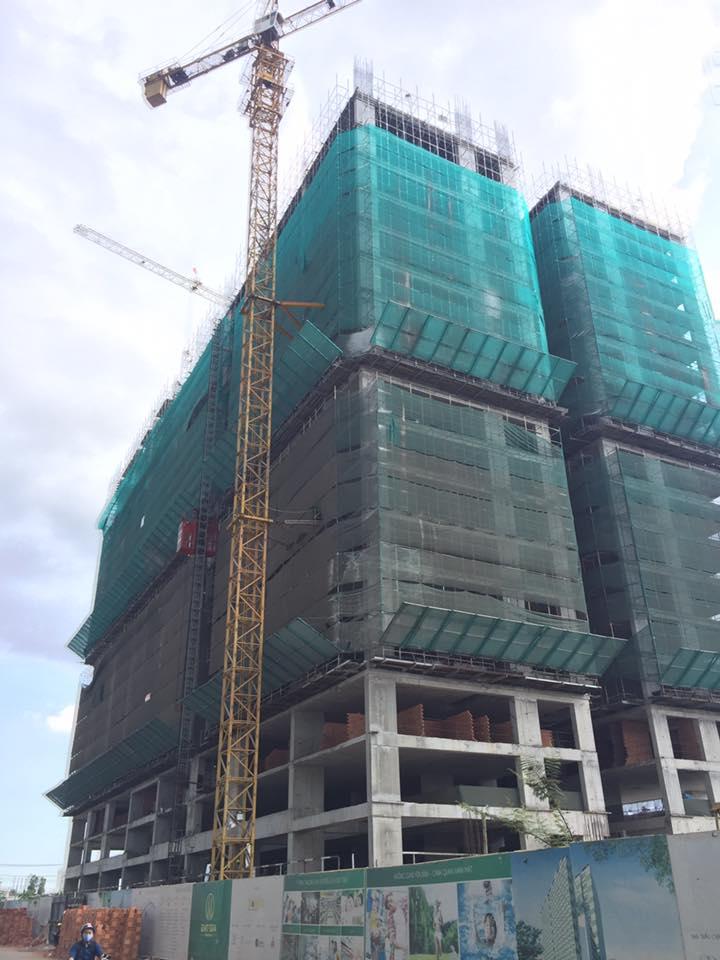 Tiến độ dự án Đạt Gia Residence tháng 5/2016-1