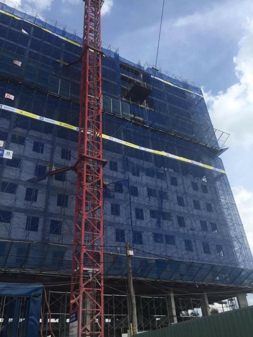 Tiến độ căn hộ Saigon metro Park tháng 7/2016 - 3