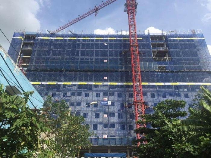 Tiến độ căn hộ Saigon metro Park tháng 7/2016