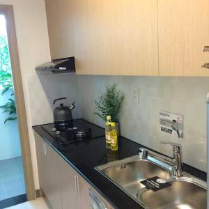 Nhà mẫu căn hộ Saigon Metro Park - Phòng bếp