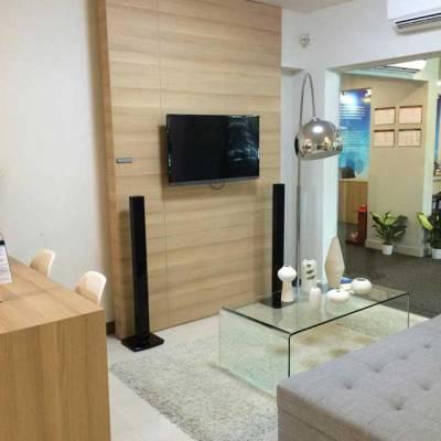 Nhà mẫu căn hộ Saigon Metro Park - Phòng khách