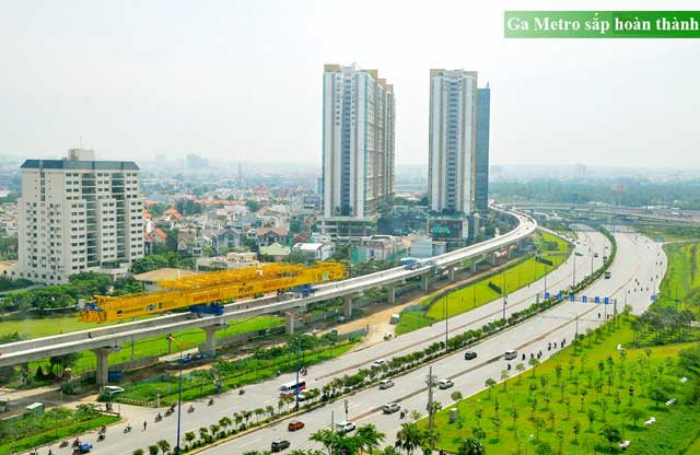 Ga Metro tại Saigon Gateway