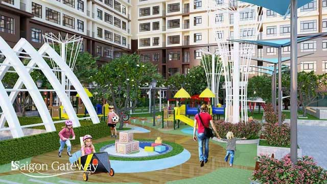 Khu vui chơi cho trẻ em tại Saigon Gateway