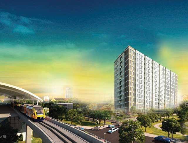 Phối cảnh căn hộ Saigon Metro Park Thủ Đức