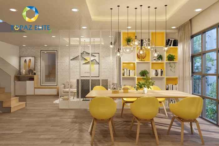 căn hộ mẫu Topaz ELite - loại Duplex