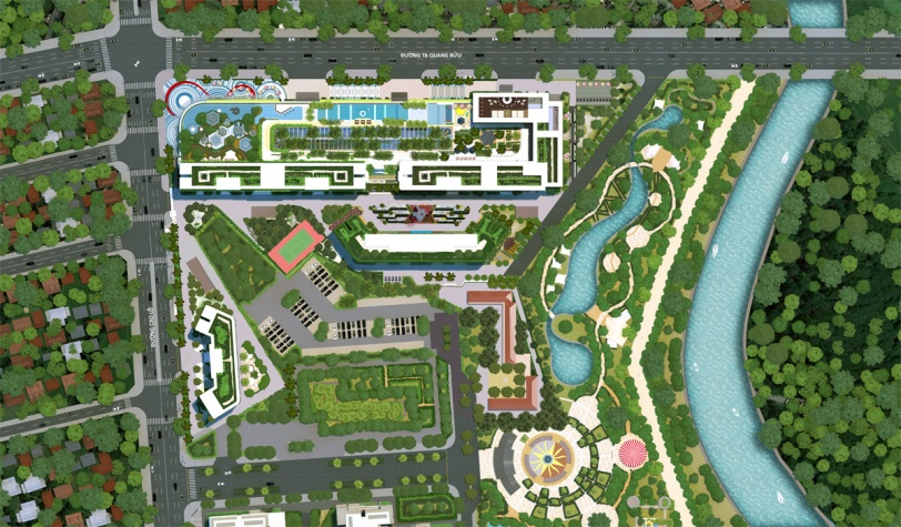 Mặt bằng tổng thể dự án Topaz Elite Quận 8, topaz elite, căn hộ topaz elite;