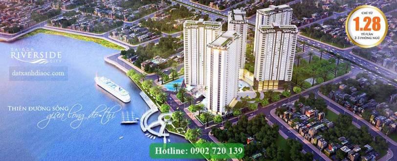 Banner Dự án Saigon Riverside City Thủ Đức