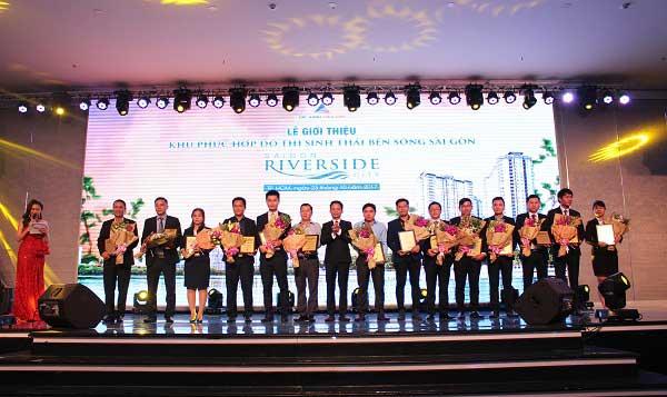 Lễ ra quận dự án Saigon Riverside City - 14 Lãnh đạo Cty Liên kết