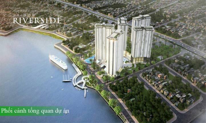 Saigon Riverside City - Phối cảnh ban đêm
