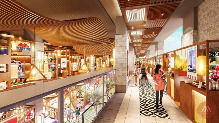 Saigon Metro mall - Phối cảnh mẫu 2