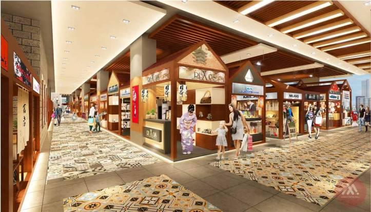 Saigon Metro mall - Phối cảnh mẫu 4